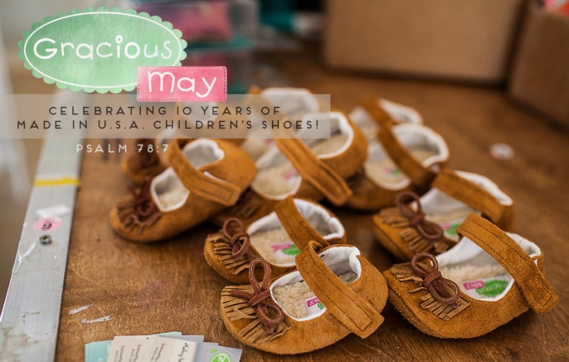 Gracious May 10th Anniversary of Footwear Line