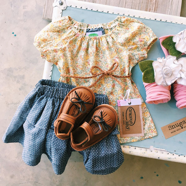 American Made in USA Clothing for Girls