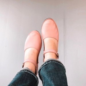 Comfortable Ladies Shoes Blush Leaher Mama Jane American Made