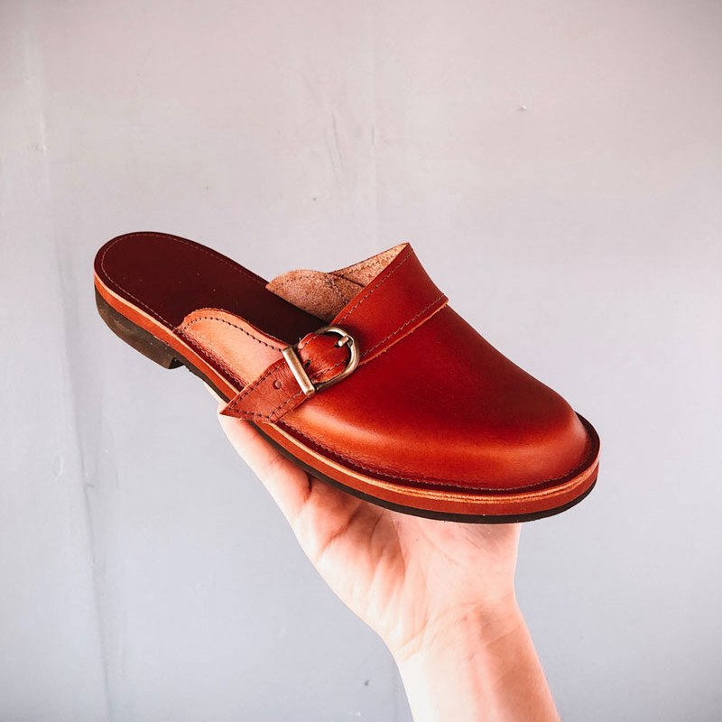 American Made women's Shoes Mama Mules by Gracious May