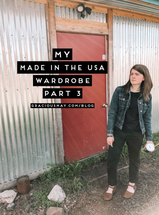 My Made in the USA Wardrobe Part 3 Fast fashion is worse than plastic straws