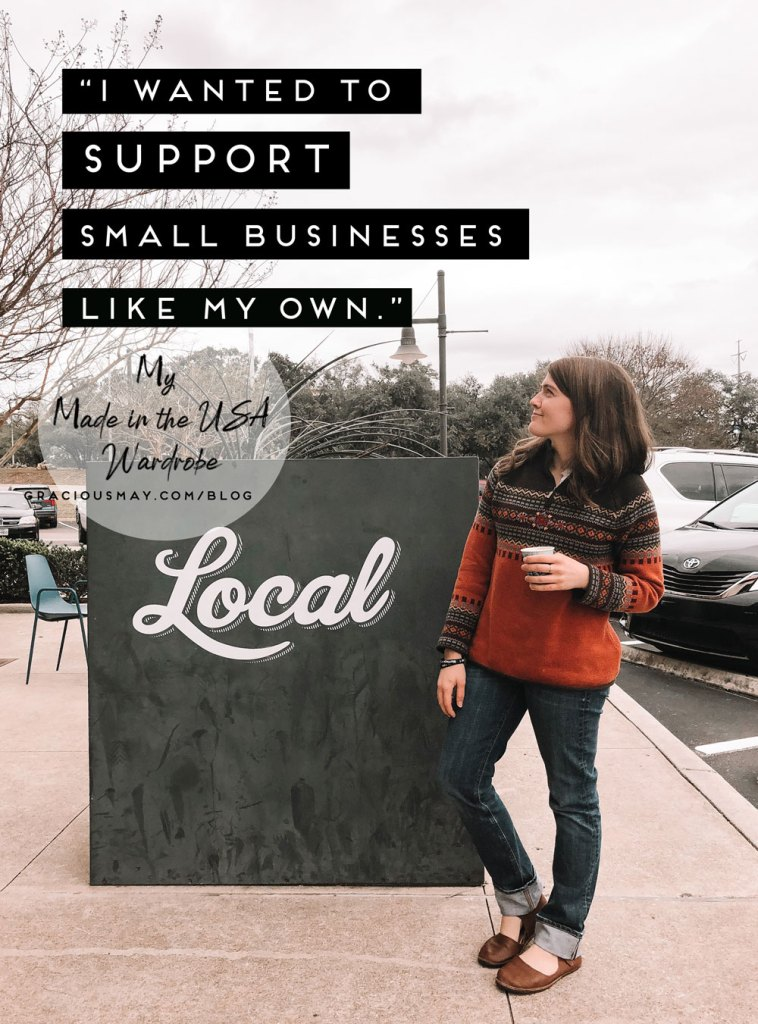 Supporting Small Business with Fashion Choices