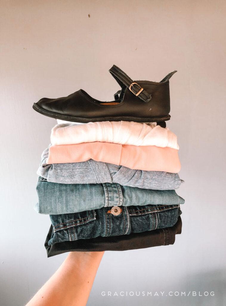 10 Piece Minimalist Wardrobe Experiment