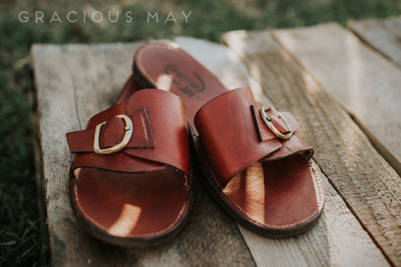 Leather Sandals Made in the USA by Gracious May