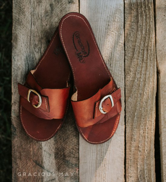 Leather Sandals for Women Made in the USA