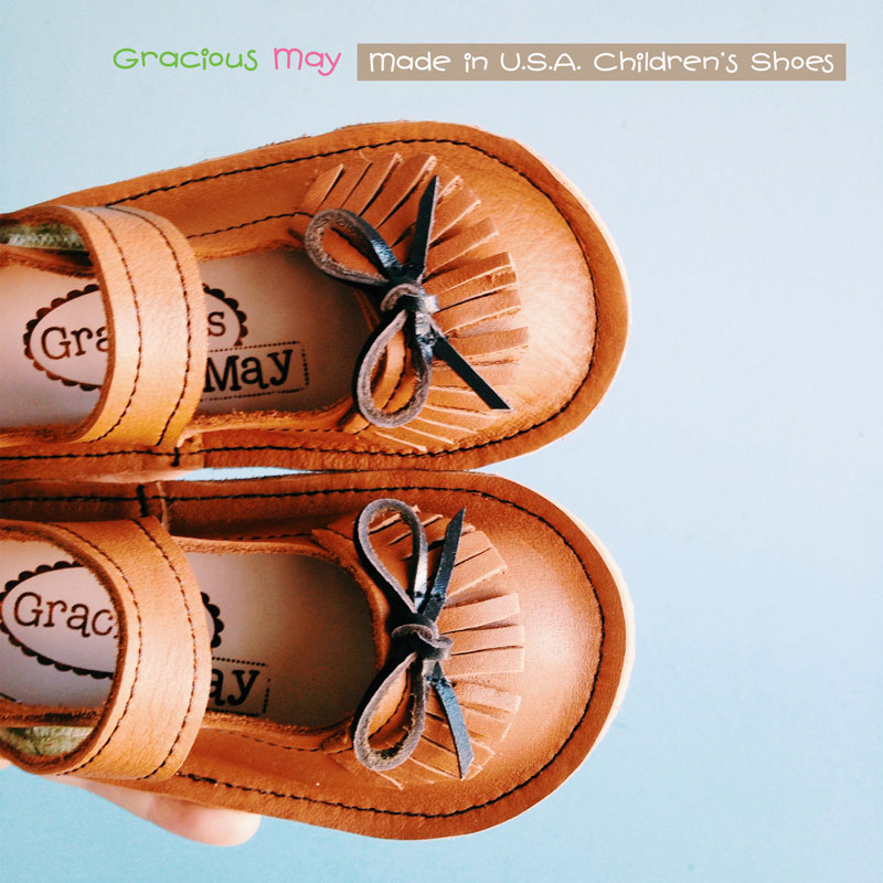 Made in the USA Leather Shoes for Girls