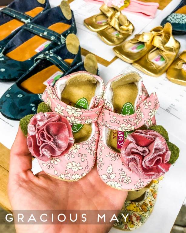 Made in the USA Baby Shoes by Gracious May