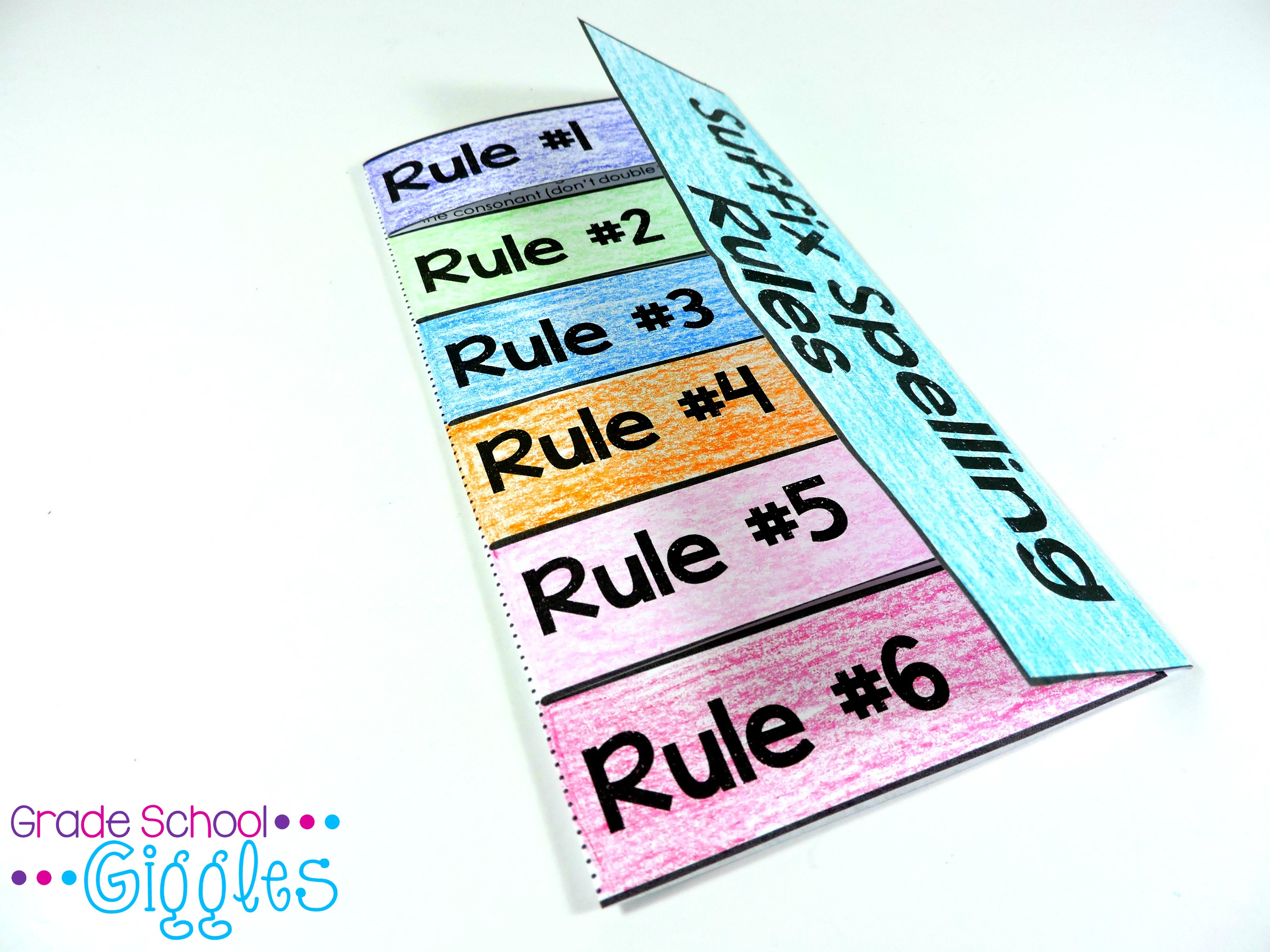 5 Ways To Teach Suffix Spelling Rules Or Any New Concept