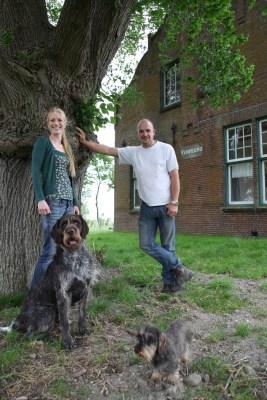 Jantina Schoonveld & Jasper Poot, eigenaars van Gradient Natuurbeheer