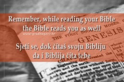 Bible reads you