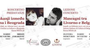 Gostovanje italijanskih operskih umetnika 20. februara u Beogradu