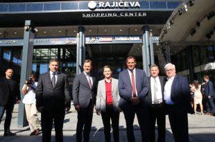 Ana Brnabić i Siniša Mali, zvanično su otvorili Rajićeva Shopping Centar