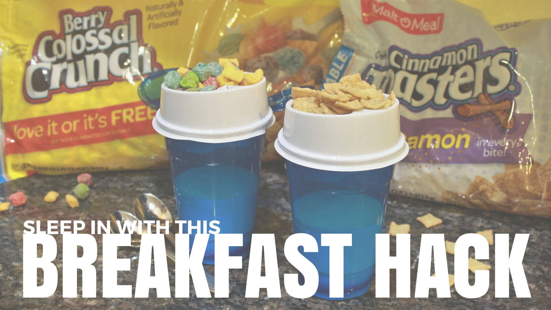 Sleep in with this Breakfast Hack