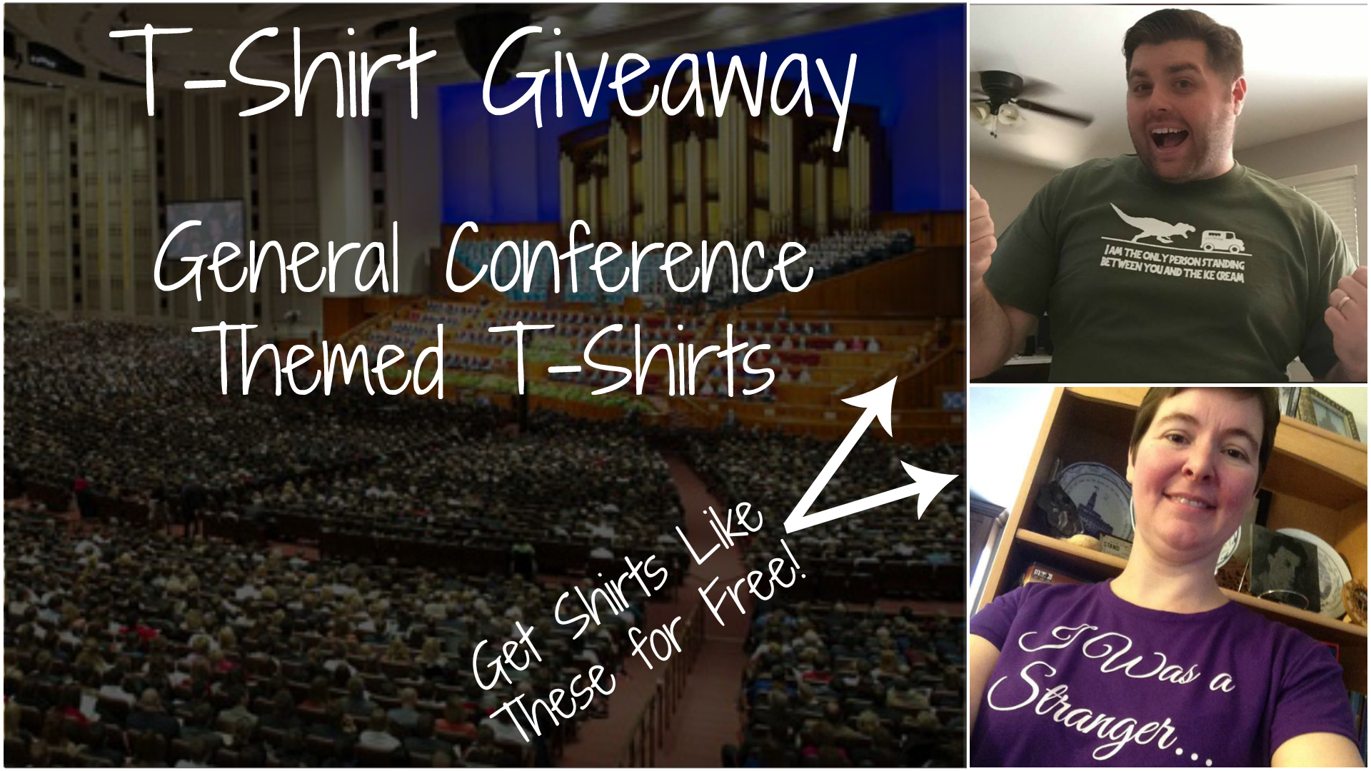 Vote for the Best General Conference Themed T-Shirt