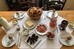 Osterfrühstück zum Ostersamstag @ Gräfes Wein & fein