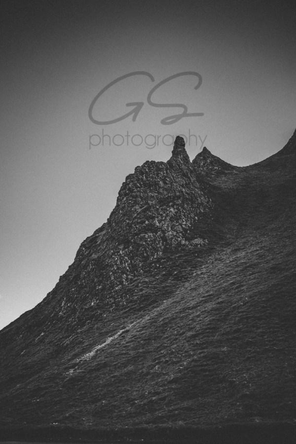 a grey Winnats Pass