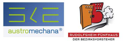 Logos - Austro Mechana - Bezirk Rudolfsheim-Fünfhaus