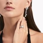 Knot Pave Diamond Ring White Gold Graff