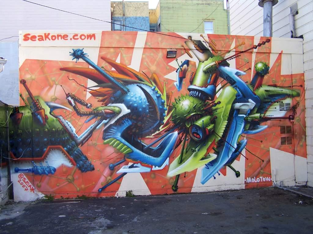 Art Crimes San Francisco Bay Area 100