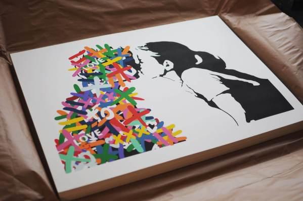 3F - The Kiss Print