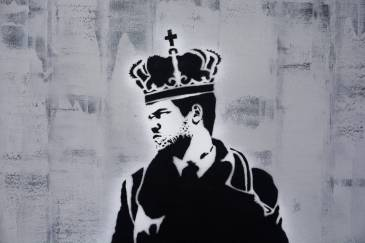 King of Chess Canvas