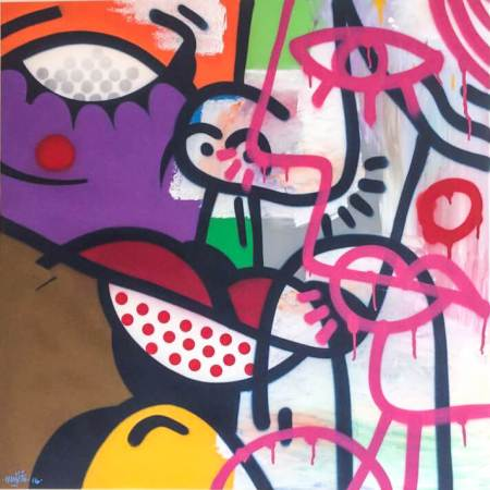 HUNTO Untitled Canvas
