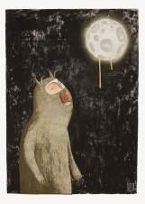 Bisser Werewolf Drippy Moon Special Print