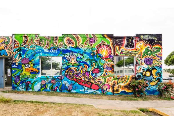 San One. Photo by @powwowhawaii