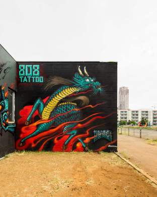 Soker. Photo by @powwowhawaii