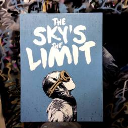 NME - The Sky's The Limit (on wood)