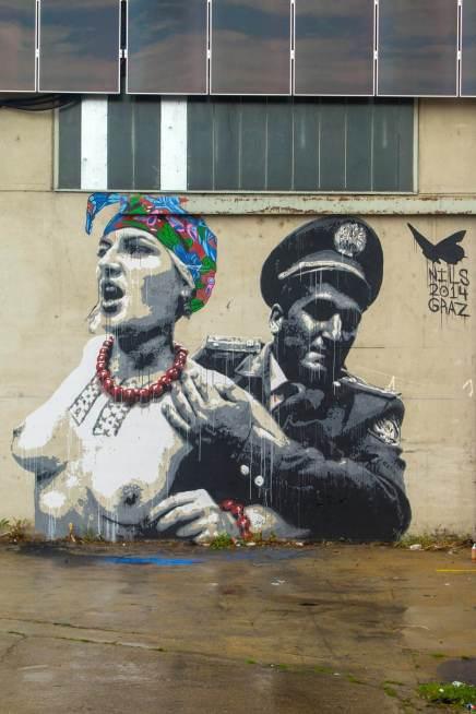 Nils Westergard - Athena street piece in Austria