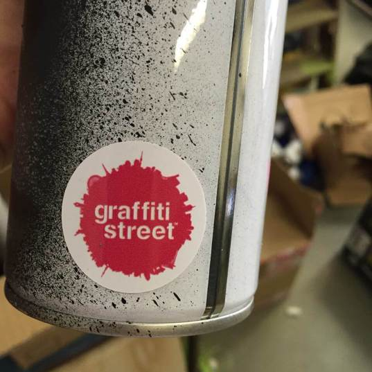GraffitiStreet Spray can
