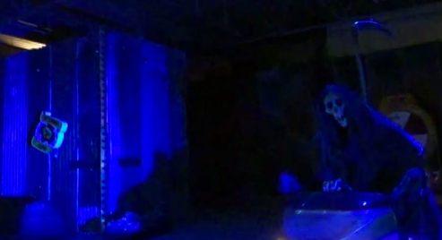 Banksy's grim reaper - Banksy Dismaland 2015
