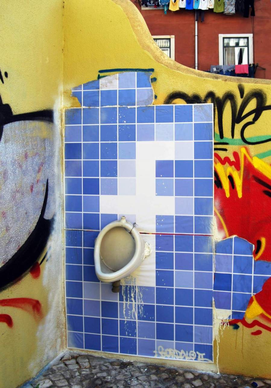 Bordalo II - FB, exposed privacy