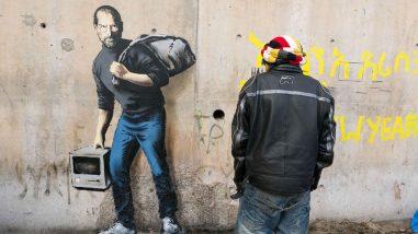 banksy-calais-france-steve-jobs-syria