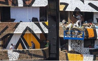 El Seed Perception Manshiyat Nasr Egypt Street Art