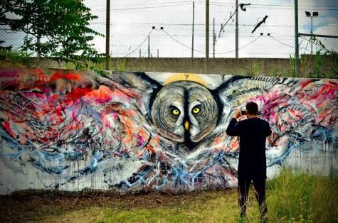 L7m Street art Rome Italy