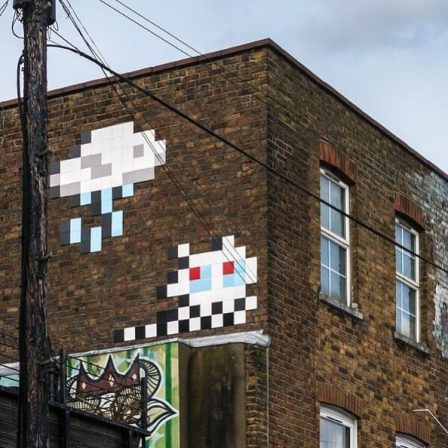 Time to Leave London Invasion 2016 Photo © Space Invader