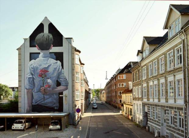 BEZT Aalborg Street Art Photo ©kirk gallery