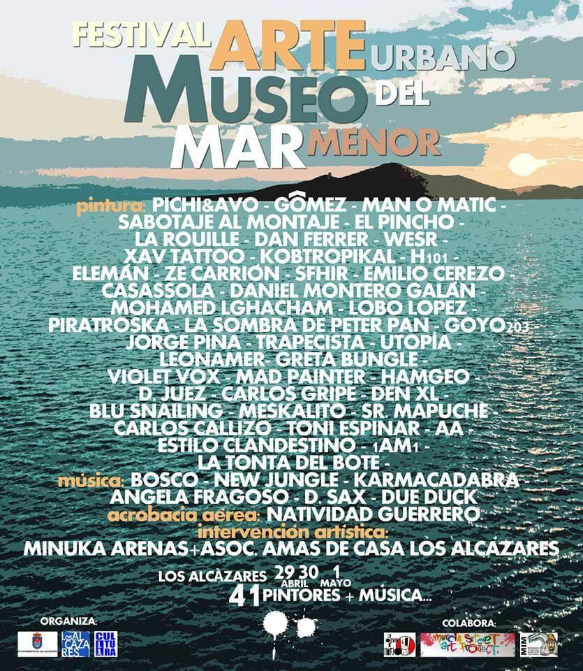 Street Art festival Mar Menor Los Alcazares