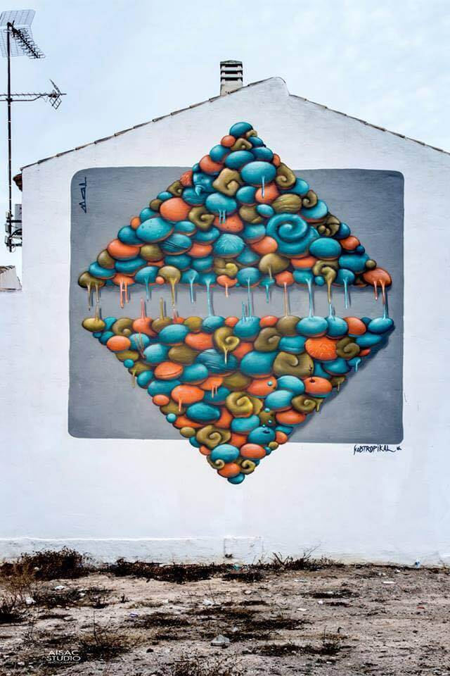 Kobtropical Street Art festival Mar Menor Los Alcazares