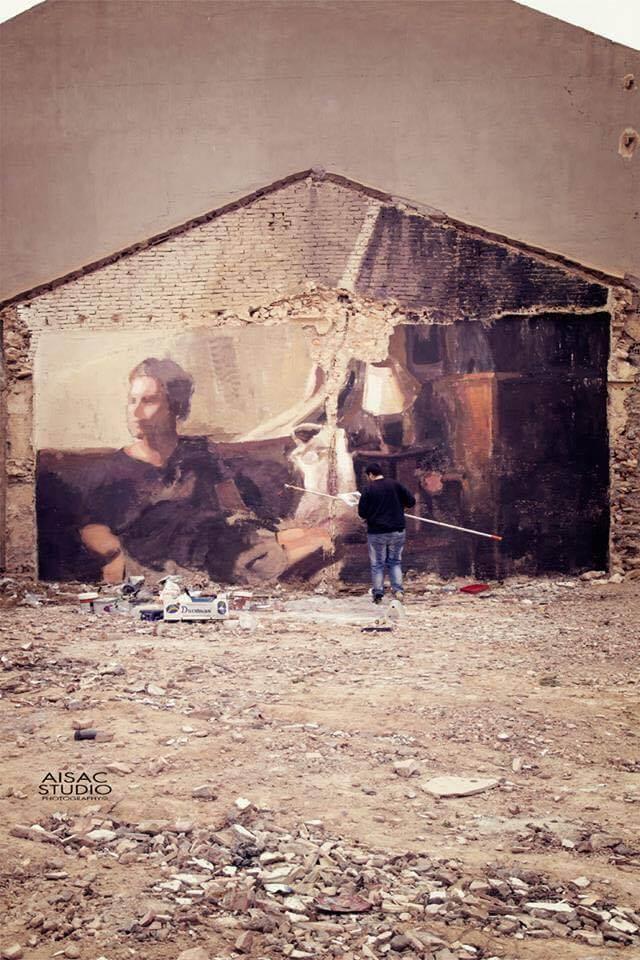 Mohamed Lghacham Street Art festival Mar Menor Los Alcazares
