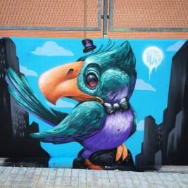 DUKE Mislatas Representan, Street Art & Graffiti, Valencia
