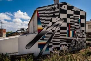 Felipe Pantone, Muro Street Art Festival