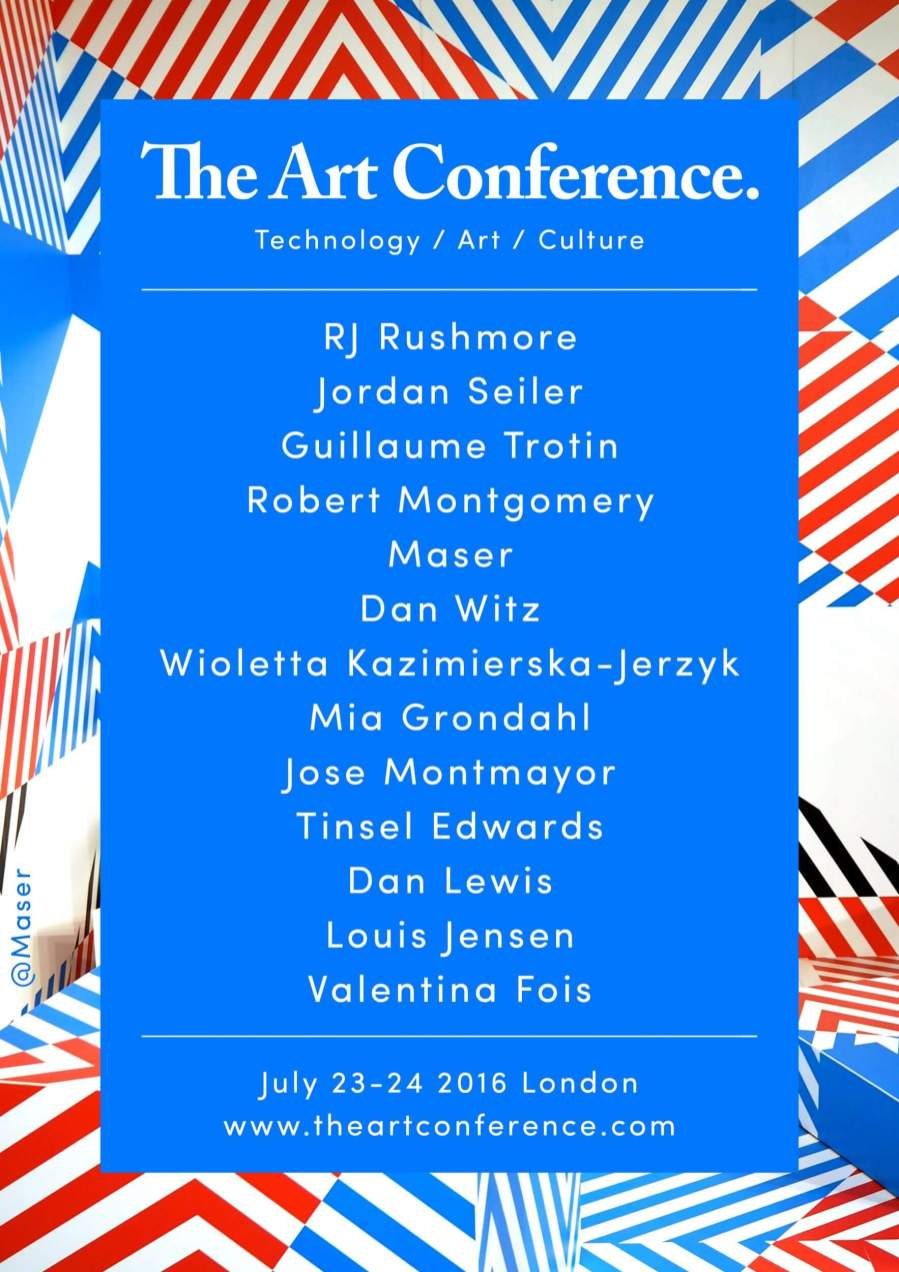 Keynote Speakers @ The Art Conference