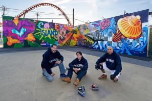 Tats Cru Coney Art Walls NYC Photo © Martha Cooper