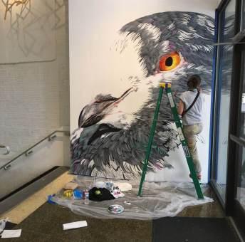 Adele Nashville Walls Street Art Project
