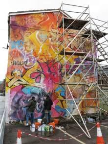 Pichiavo - Cities of Hope Street Art 2016
