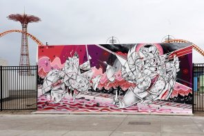 How Nosm Coney Art Walls NYC Photo © Martha Cooper