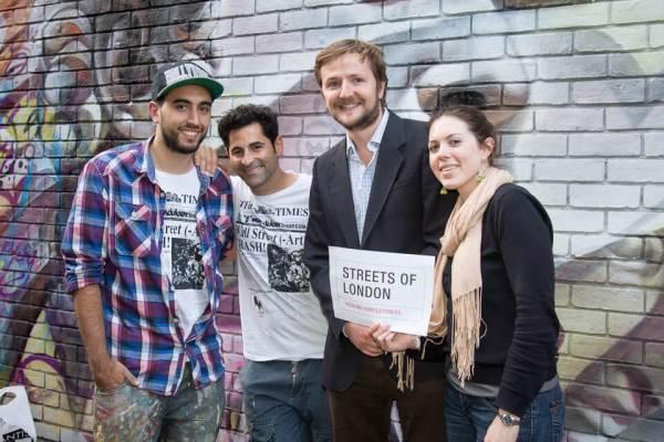 Pichiavo, Streets of London, Tackling Homelessness